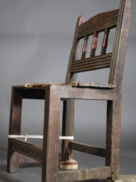 Chaise Basque XVIIème siècle